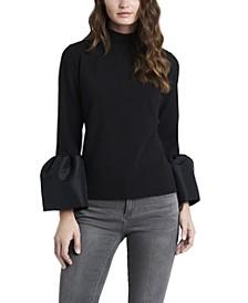 Women's Top Puff Sleeves
