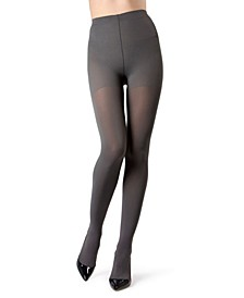 Women's Perfectly Opaque Control Top Tights Hosiery