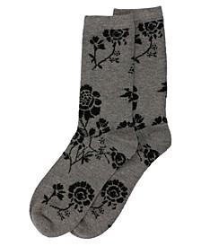 Women's Monotones Cashmere Blend Crew Socks