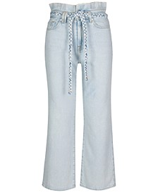 Alexa Cropped Paperbag Jeans