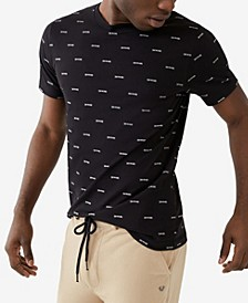 Men's All over Arch Short Sleeve Crewneck Tee