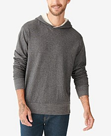 Men's Double Knit Hood Sweatshirt