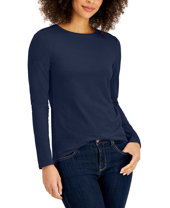 Style & Co - Long-Sleeve Top