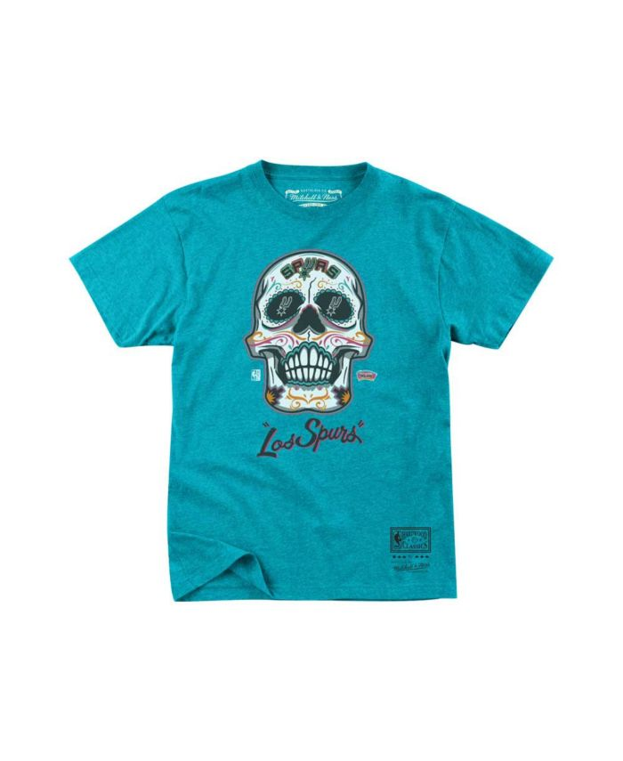 Mitchell & Ness San Antonio Spurs Men's Sugar Skull T-Shirt & Reviews - NBA - Sports Fan Shop - Macy's