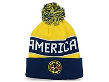 Club America Soccer Club Team Bench Warmer Knit