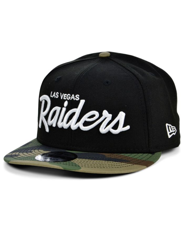 New Era Las Vegas Raiders Script 9FIFTY Cap & Reviews - NFL - Sports Fan Shop - Macy's