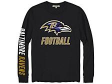 Men's Baltimore Ravens Zone Read Long-Sleeve T-Shirt