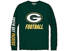 Green Bay Packers Men's Zone Read Long Sleeve T-Shirt