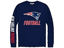 New England Patriots Men's Zone Read Long Sleeve T-Shirt