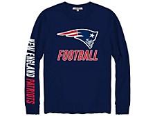 New England Patriots Men's Zone Read Long Sleeve T-Shirt