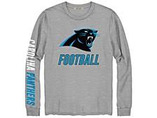 Carolina Panthers Men's Zone Read Long Sleeve T-Shirt
