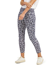 Floral-Print Pull-On Pants, Created for Macy's
