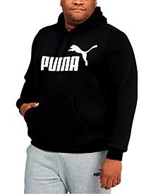 Big & Tall Men's Fleece Logo Hoodie