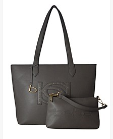 Oliver 2-Piece Medium Tote with Pouch