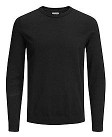 Men's Solid Long Sleeve Sweater