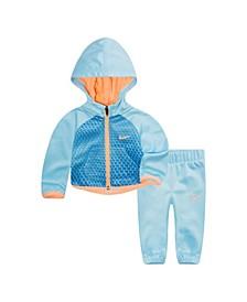 Baby Girls Therma Hoodie and Pants Set