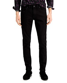 INC Men's Black Wash Skinny Jeans, Created for Macy's