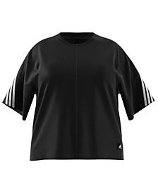 Plus Size 3-Stripe Primeblue T-Shirt