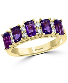 EFFY® Amethyst (7/8 ct. t.w.) & Diamond (1/5 ct. t.w.) in 14k Gold (Also in Rhodolite Garnet)