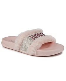 Women's Steady Faux Fur Sandal Slide