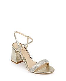 Jewel Badgley Mischka Women's Earlene Block Heel Evening Sandal