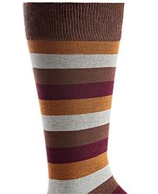 Men's Stripe Socks, Created for Macy's