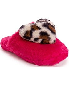 Women's Heart Slippers