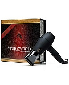 Mini Blowdryer - Black, from PUREBEAUTY Salon & Spa