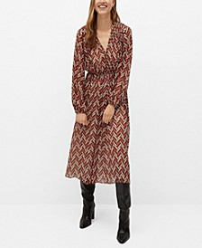 Women's Ethnic Print Dress