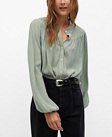 Women's Flared Blouse