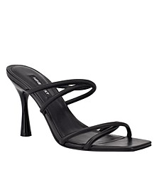 Women's Fabiola Square-Toe Slide Sandals