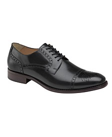 Men's Lewis Cap Toe Lace-Up Oxford Shoes