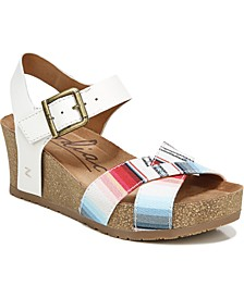 Mabel Ankle Strap Wedge Sandals