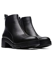 Women's Wanda Zip Ankle Boots
