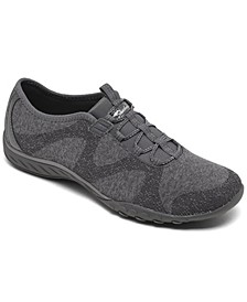 Women's Relaxed Fit- Breathe-Easy - Opportunity Walking Sneakers from Finish Line