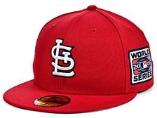 St. Louis Cardinals World Series Patch 59FIFTY Cap