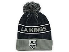 Los Angeles Kings 2020 Locker Room Pom Knit Hat