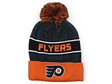 Philadelphia Flyers 2020 Locker Room Pom Knit Hat