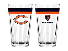 Chicago Bears 16-oz. Double-Banded Pint Glass