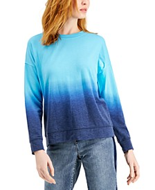 Petite Ombre Sweatshirt, Created for Macy's