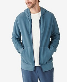 Men's Sueded Terry Full Zip Hoodie