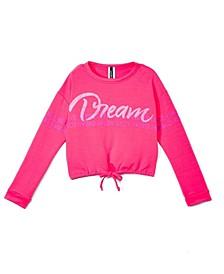 Big Girls Dream Long Sleeve Crew Neck Top