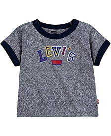 Baby Boys Textured Raglan Top
