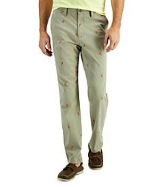 Men's Parrot-Print Pants, Created for Macy's