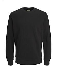 Men's Solid Long Sleeve Crew Sweatshirt