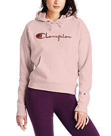 Champion Women's Reverse Weave Logo Hoodie