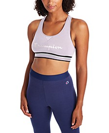 The Authentic Cutout-Back Mid-Impact Sports Bra