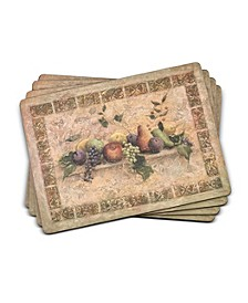Tuscan Palette Placemats, Set of 4