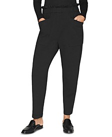 Pull-On Tapered Pants