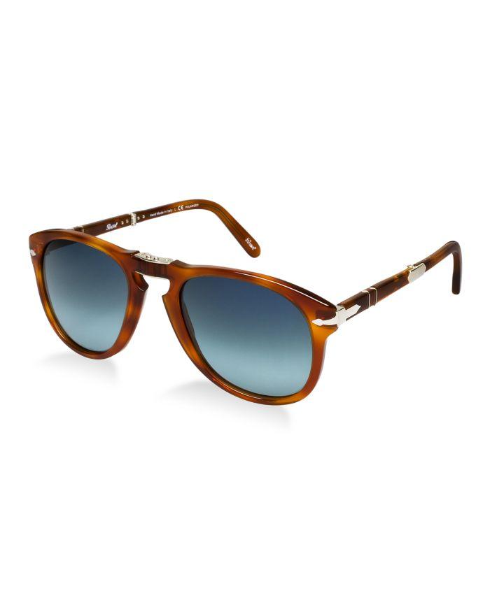 Persol Polarized Sunglasses, PO0714SM STEVE MCQUEEN LIMITED EDITION & Reviews - Sunglasses by Sunglass Hut - Men - Macy's